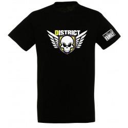 T-shirt noir enfant Ailes