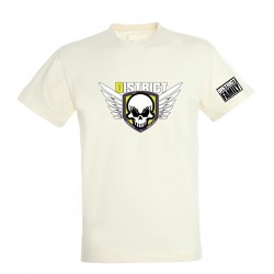 T-shirt blanc enfant Ailes